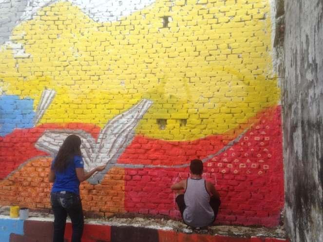 Mural Paz y Juventud_TapachulaMEX